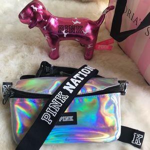 Pink Vs Fanny pack and headband bundle💕
